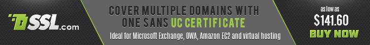 Microsoft Exchange SAN UCC SSL